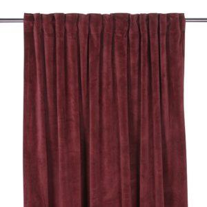 röda gardiner