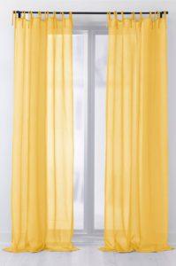 gula påskgardiner